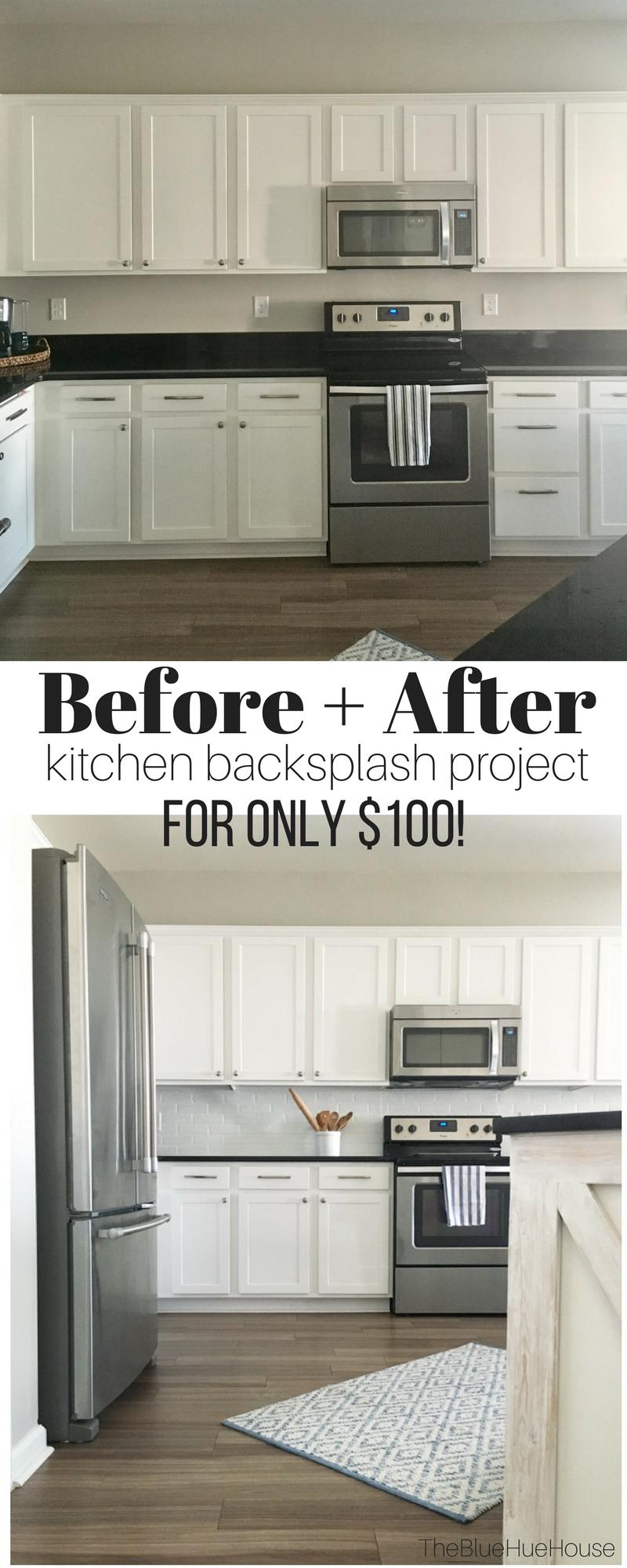 How To Make A Faux Brick Kitchen Backsplash Brick Backsplash