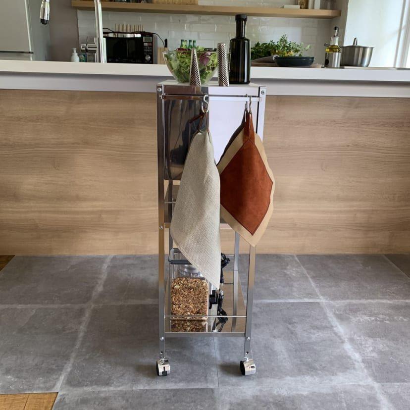 人工大理石天板キッチン作業台 幅48 通販 ディノス 2020 作業台