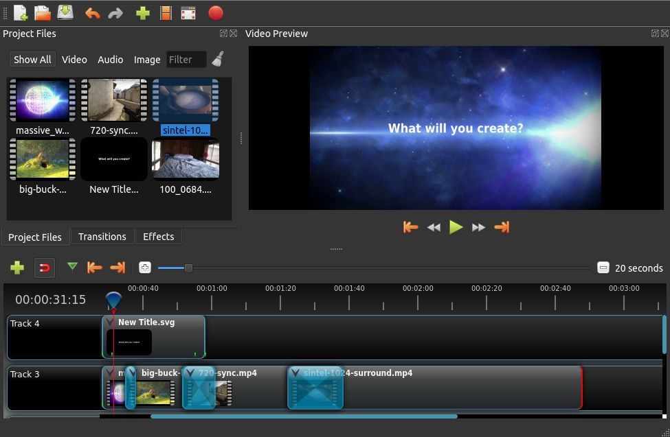 Openshotui Free Video Editing Software Video Editing Video Editing Software