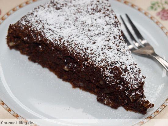 Schokoladen mandel kuchen ohne mehl