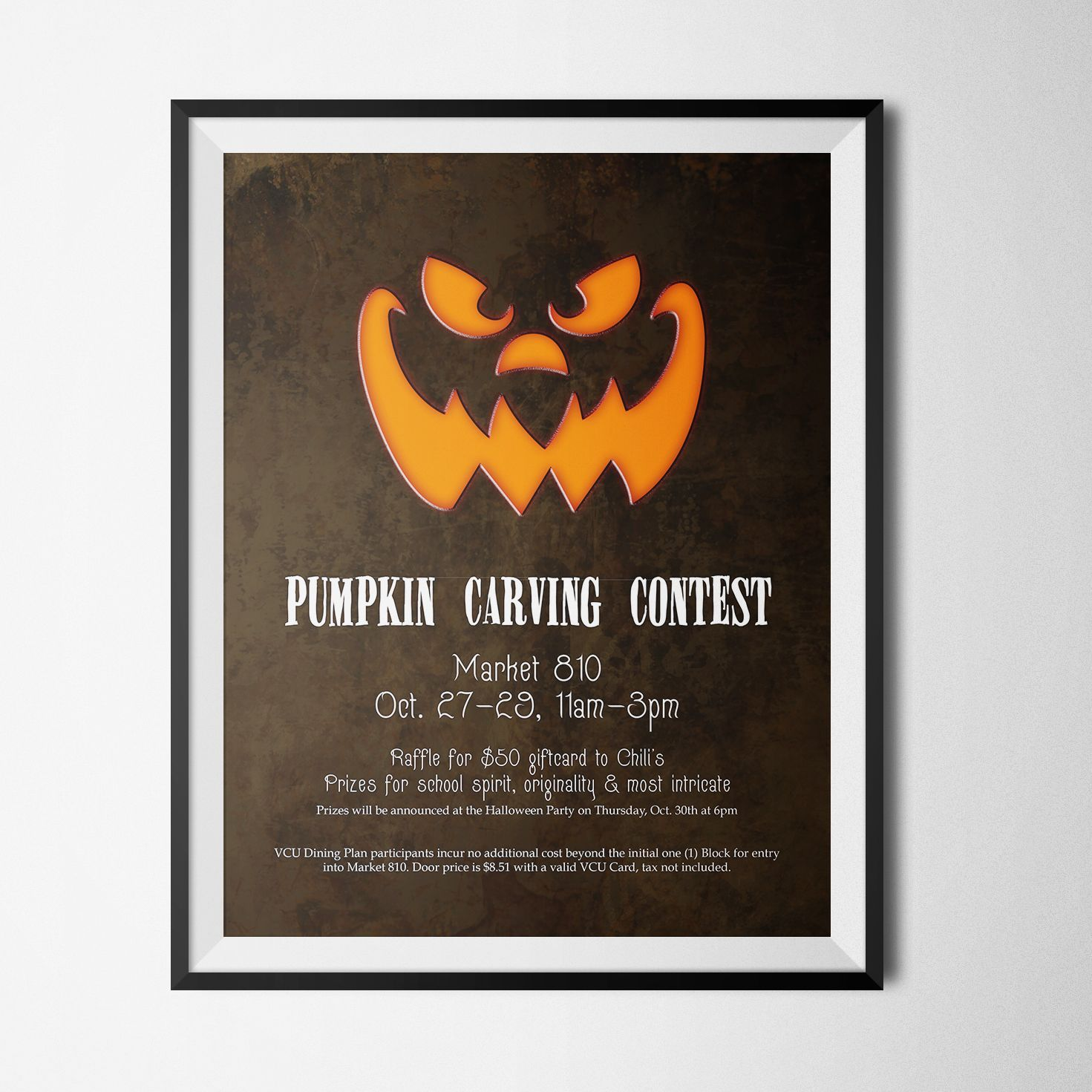 Halloween Poster - Pumpkin Carving Contest - PosterDesign | My ...