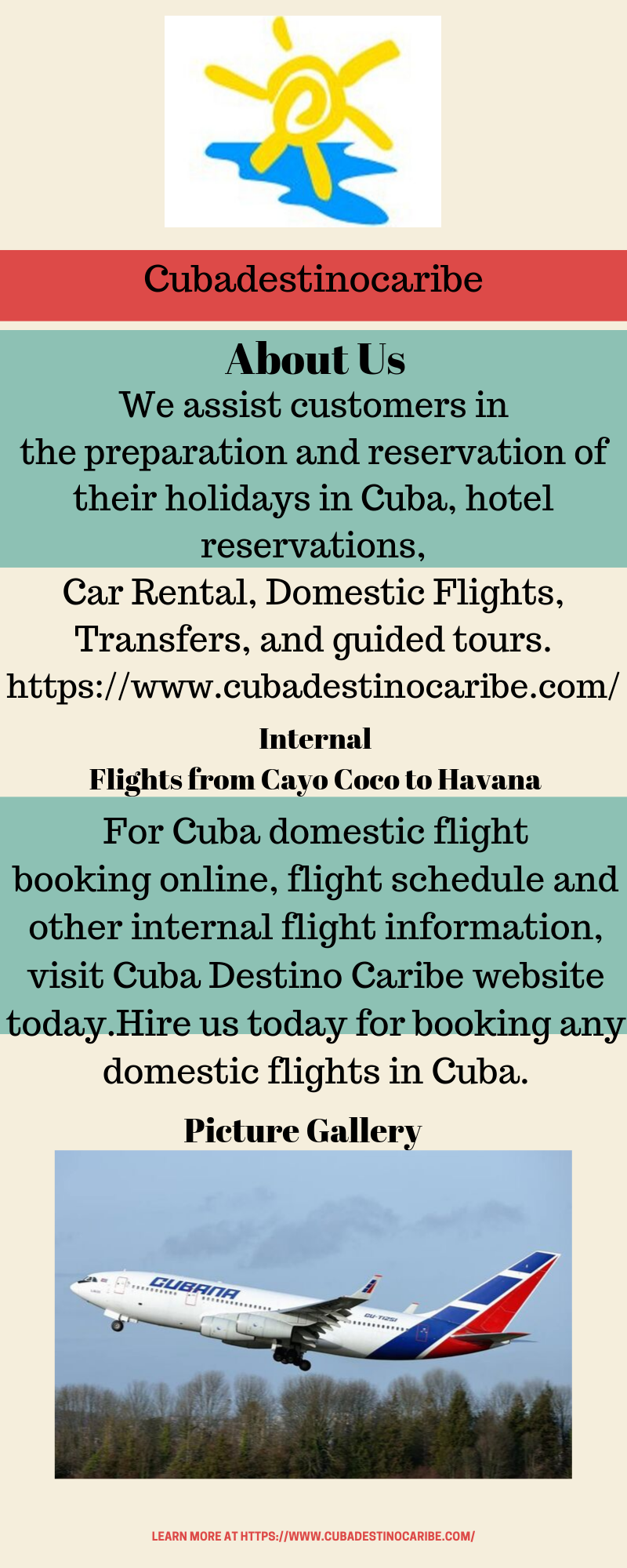 Internal Flights from Cayo Coco to Havana #visitcuba