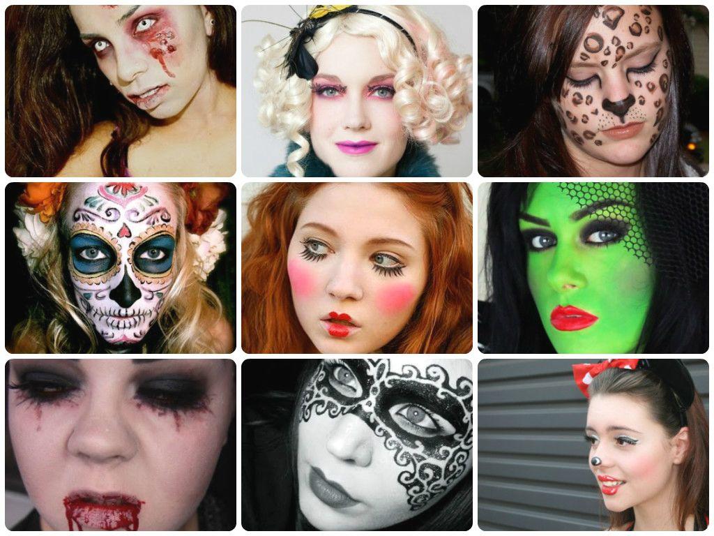 10 best halloween makeup tutorials girlsguideto halloween 10 best halloween makeup tutorials girlsguideto baditri Image collections