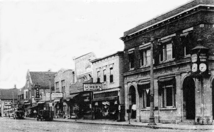 Corner Of 70th And Greenfield Early 1900 S Westallis Wisconsin Downtown Historic West Allis Wisconsin Milwaukee County Milwaukee Wisconsin