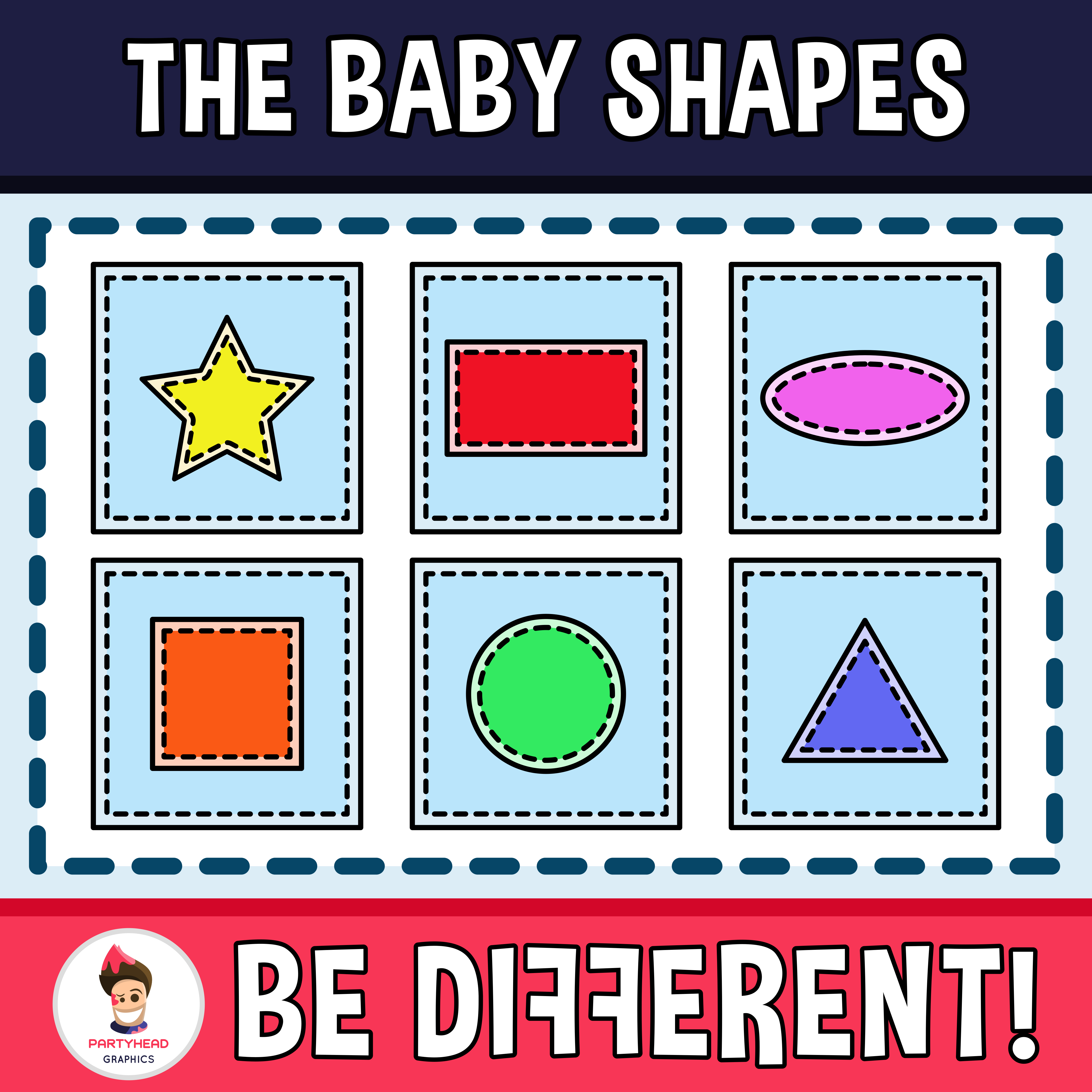 Baby Shapes Clipart