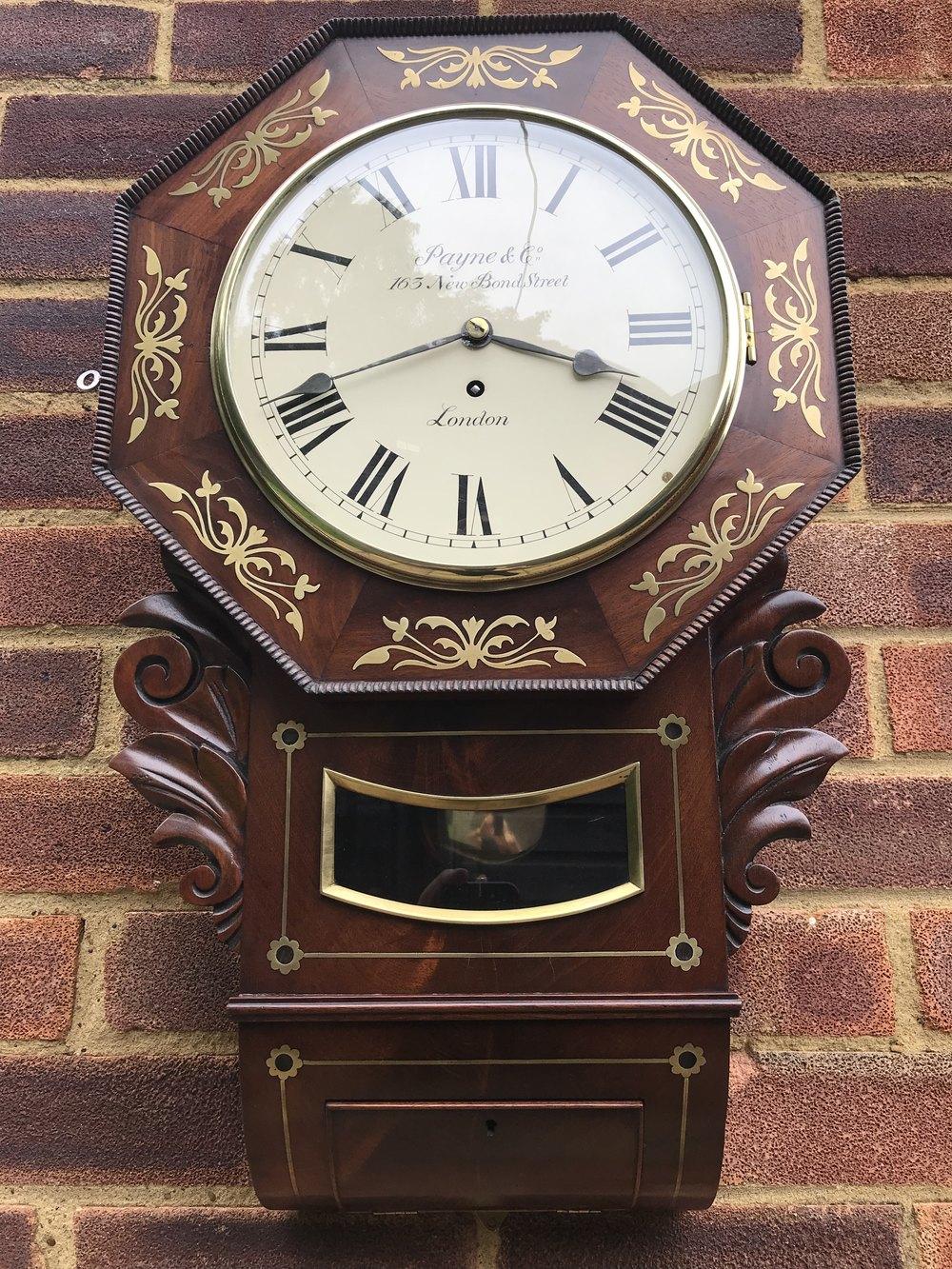 Antique Fusee Wall Clock Antique Wall Clocks Antique Wall Clock Wall Clock