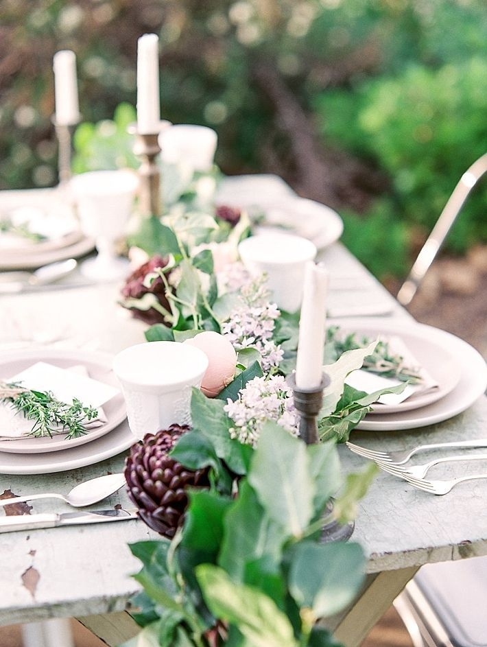 Pink and Green Garden Wedding Ideas by Savan Photography | Green ...