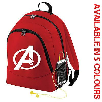 Avengers superhero  backpack bag -  marvel-  comic - rucksack dc  comics. Fashion  BackpackBackpack BagsDance ... e75d589eb3cb0