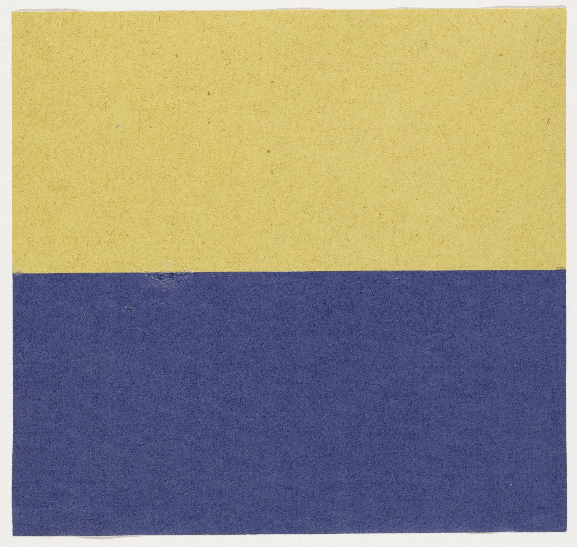 Ellsworth Kelly. Yellow and Blue. 1951   Art   Pinterest   Ellsworth ...