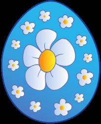 Pääsiäismuna sisustettu maalattu kukat Peli