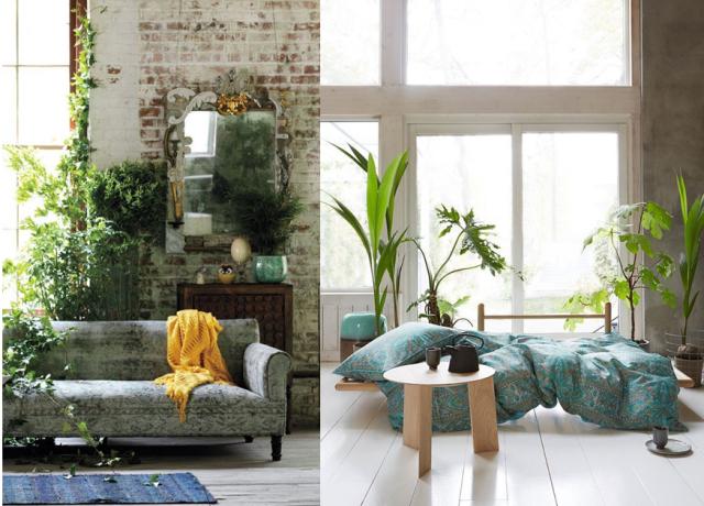 20 inspirations pour une déco urban jungle joli place