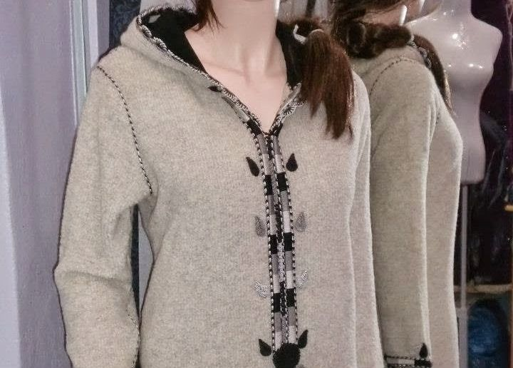 موديلات جلابات شتوية بسيطة و أنيقة لتتألقي في فصل الشتاء موقع يالالة Yalalla Com عالم المرأة بعيون مغربية Moroccan Dress Moroccan Fashion Hijab Fashion