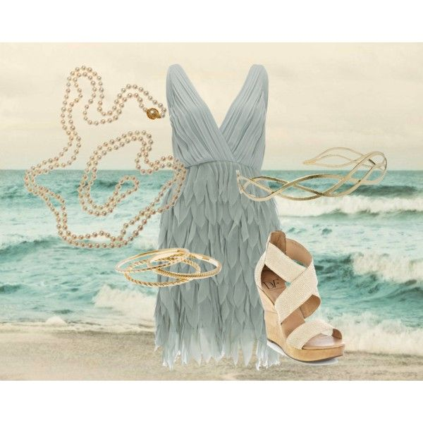 sea blue, created by dirtydiana89 on Polyvore