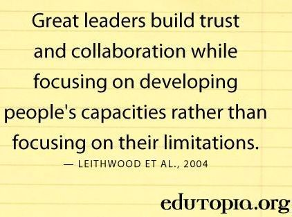 Quotes Hard Work Success Great Leaders Build Trust And