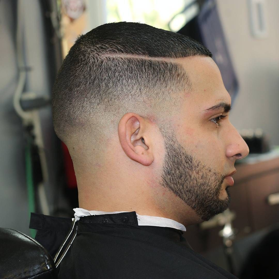 Low Fade With Line And Beard Taper Fade Pinterest Low Fade - High taper fade haircut