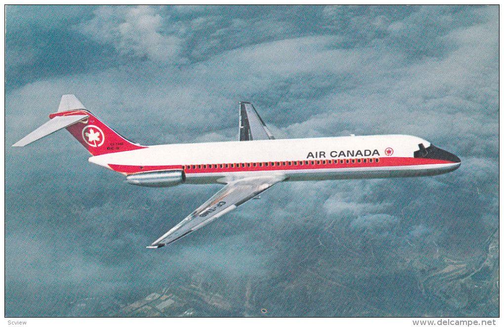 Air Canada Douglas Dc 9 Airplane 1960s Item Number