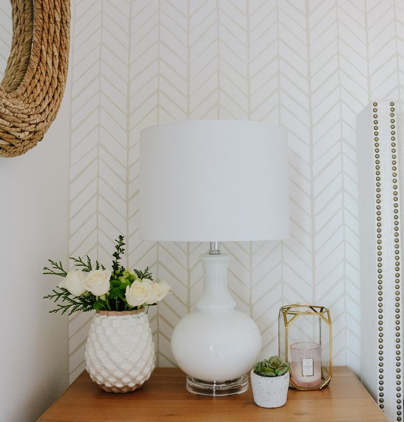 Best Neutral Cozy Master Bedroom With Wallpaper The Reveal 400 x 300