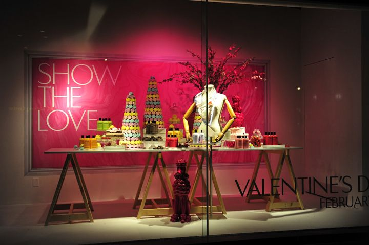 the hudson bay #window #displays, #valentines day visual, Ideas