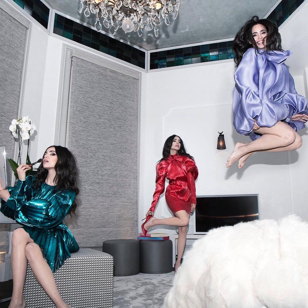"Sofia Carson on Instagram: ""party of 1 @glamouritalia"""