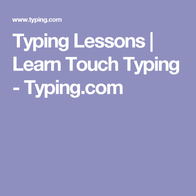 FreeTypingGame.net - Free Touch Typing Lessons ...