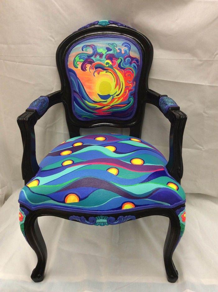42 Upcycling Ideen Wie Man Alte Stuhle Dekorieren Und Bemalen Kann