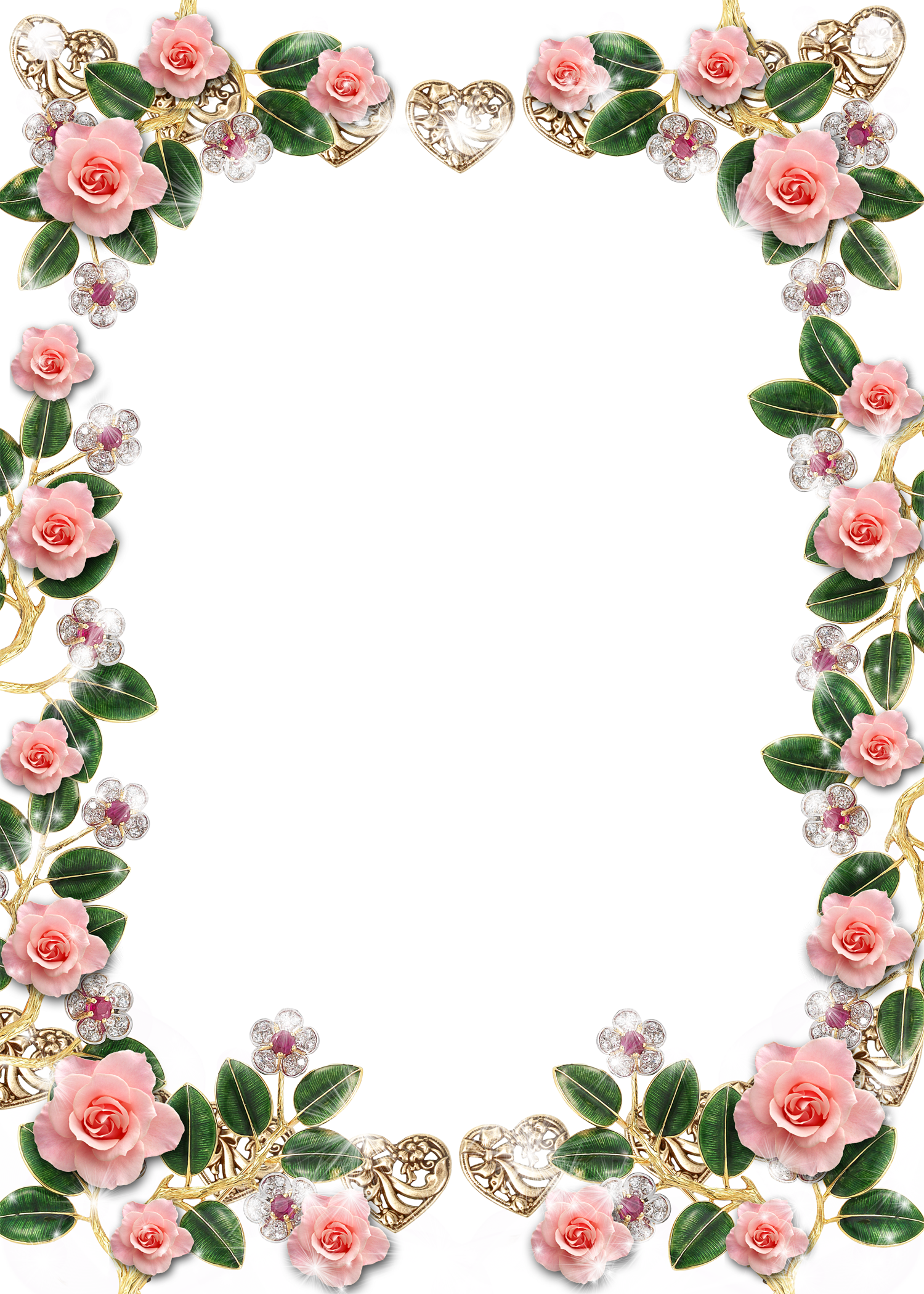 0_b5b25_19bc944c_orig (1500×2099) Floral border design
