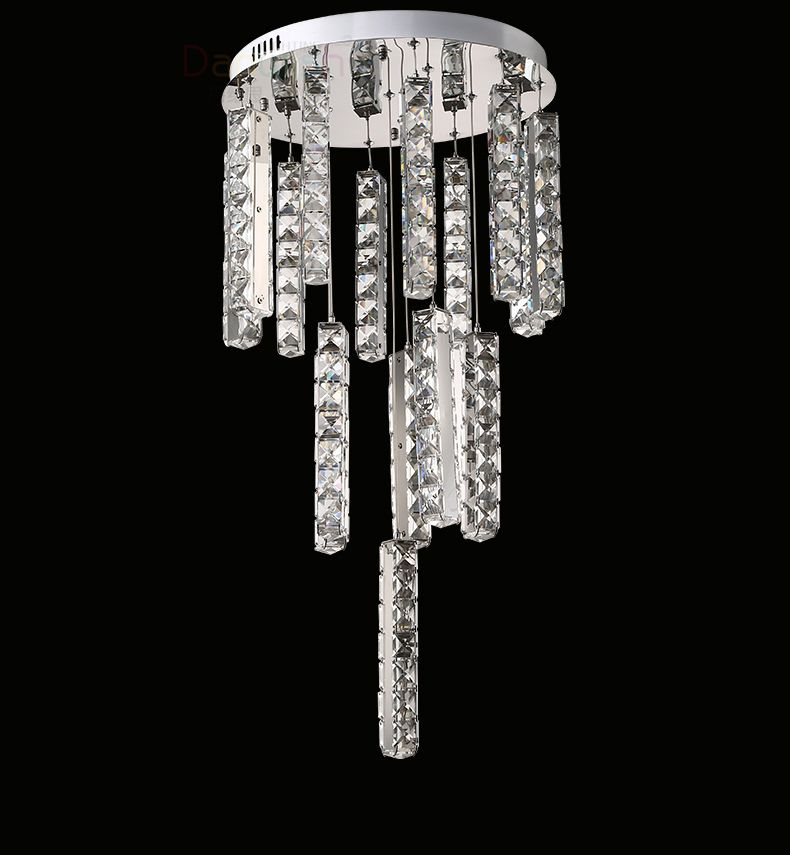 Modern stainless steel ceiling lamp crystal led chandelier fixture modern stainless steel ceiling lamp crystal led chandelier fixture crystal lustre 22 lights led light sitting mozeypictures Gallery