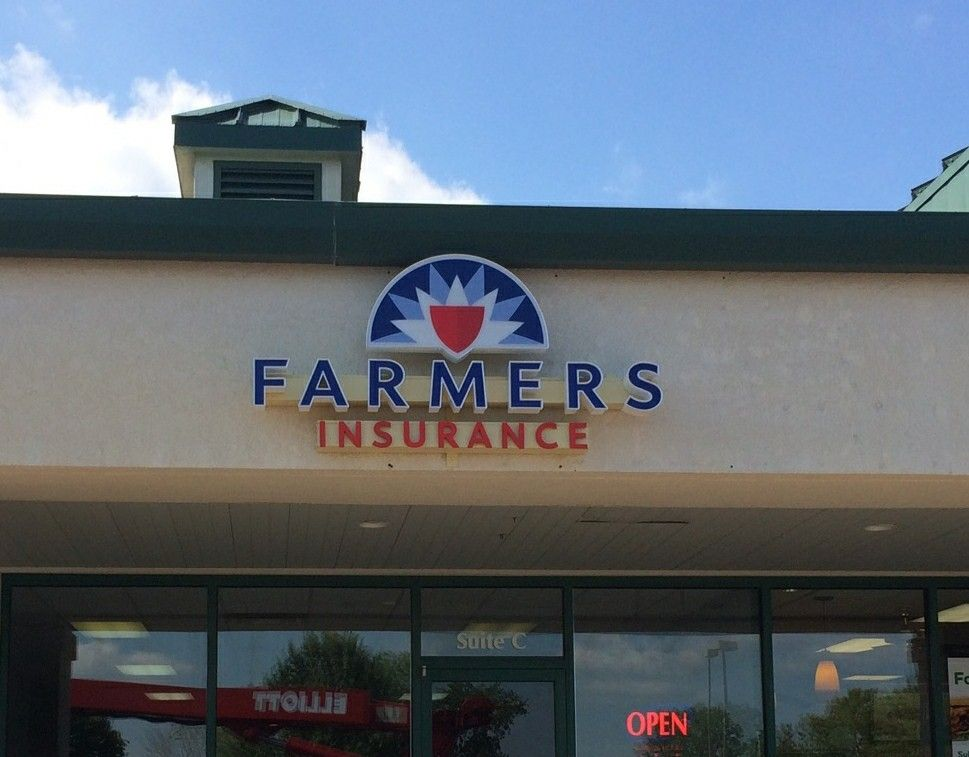 We Installed These Channel Letters For Farmers Insurance Andrew