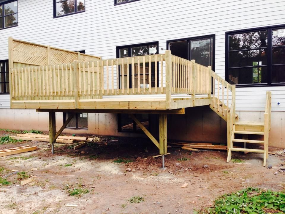 patio en bois - Google Search chervue exterior colors Pinterest