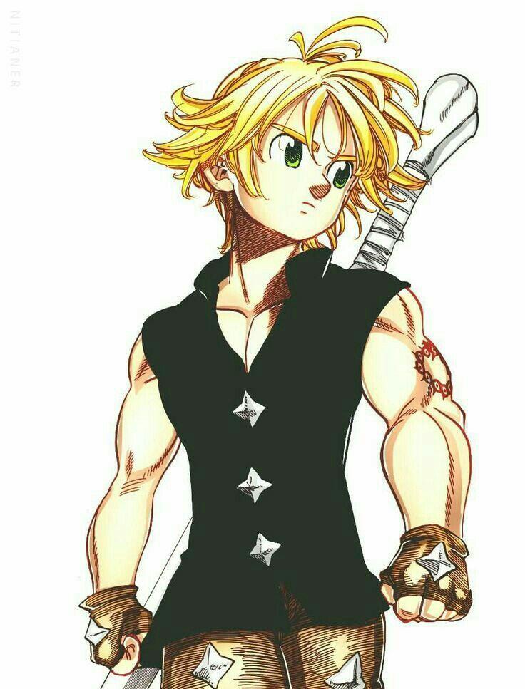 Hot Anime Guys (book 1) - Meliodas