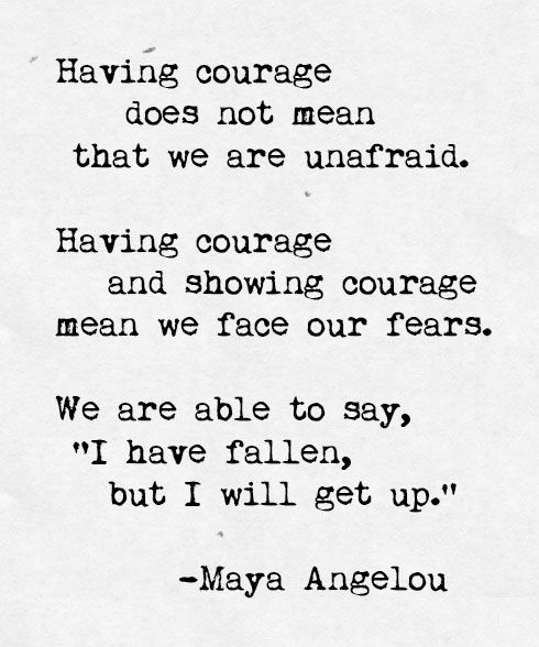 Courage Maya Angelou International Coffee Moments Maya