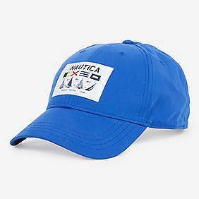96a7bf16da71f Nautica Water Repellent Sailing Patch Hat