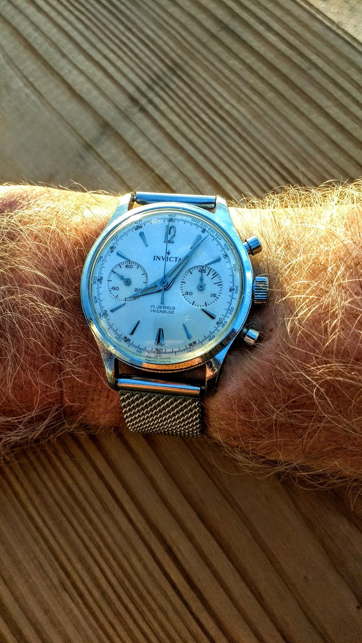 Rare 1960 S Invicta Chronograph With Images Watches