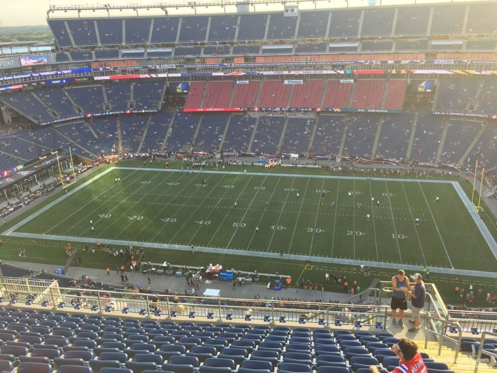 Gillette Stadium Section 308 New England Patriots Rateyourseats Pertaining To Gillette Stadium Virtual Seating Chart Gillettestadium Gillette Stadium Seating Charts The Incredibles