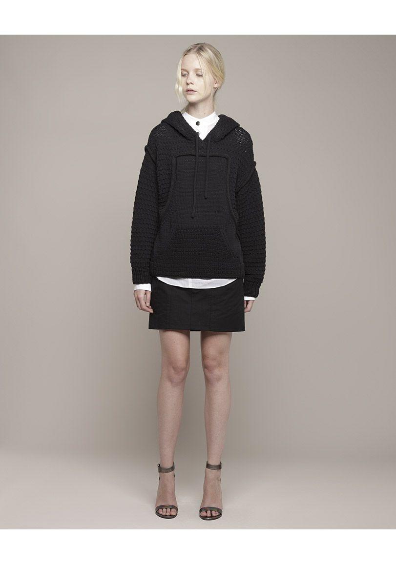 Proenza Schouler / Knit Hoodie