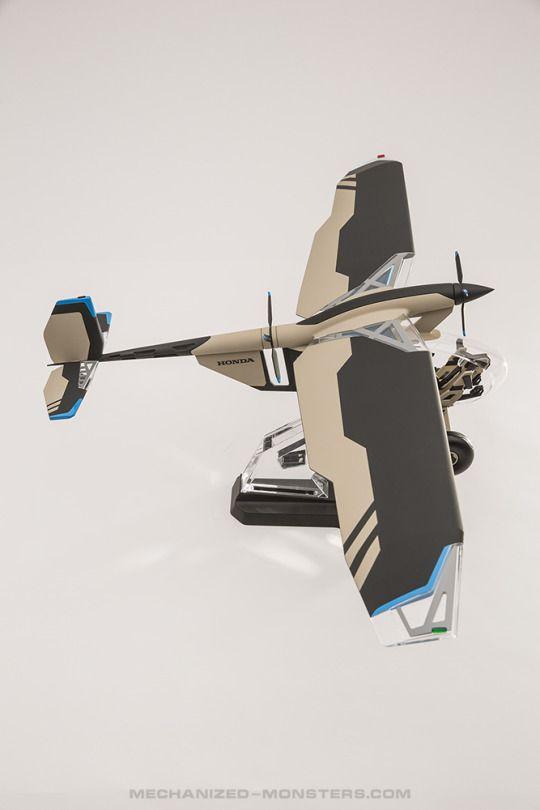 Honda LSA bush plane project - 10th scale concept    - hydrothrax