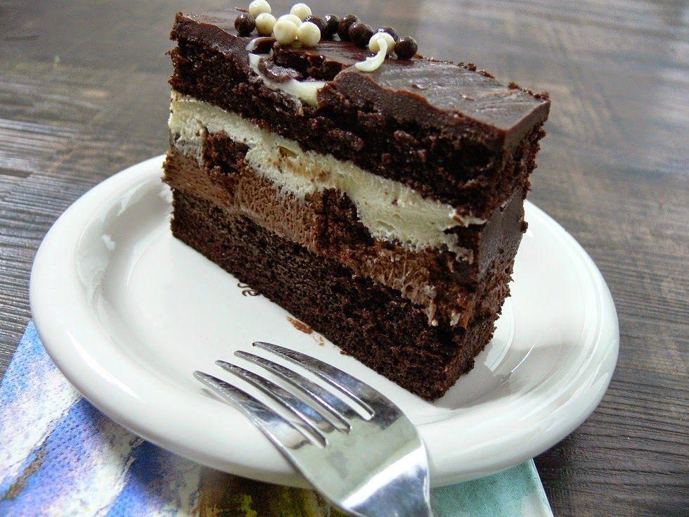 Costcos tuxedo cake chocolate mousse heaven costco
