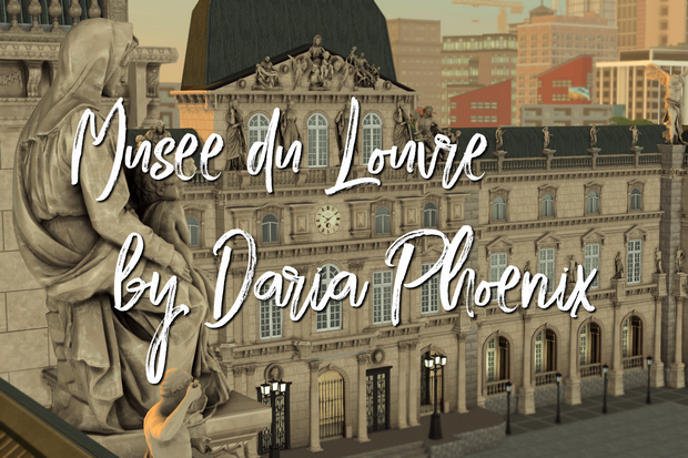 Musee Du Louvre Daria Phoenix On Patreon In 2021 Sims 4 Sims 4 Decades Challenge Sims