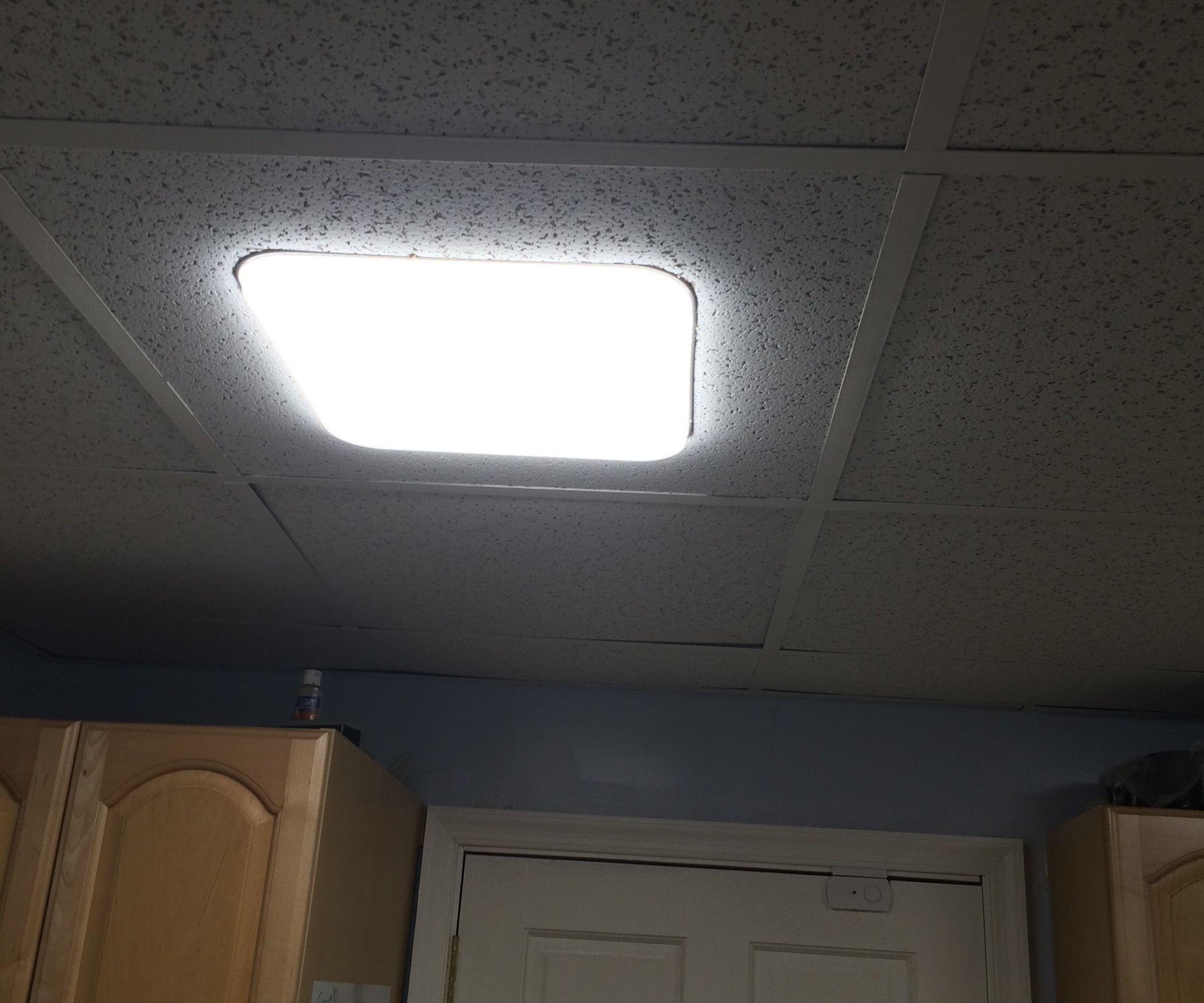 Moveable Drop Ceiling Led Light Panels Home Pinterest Led