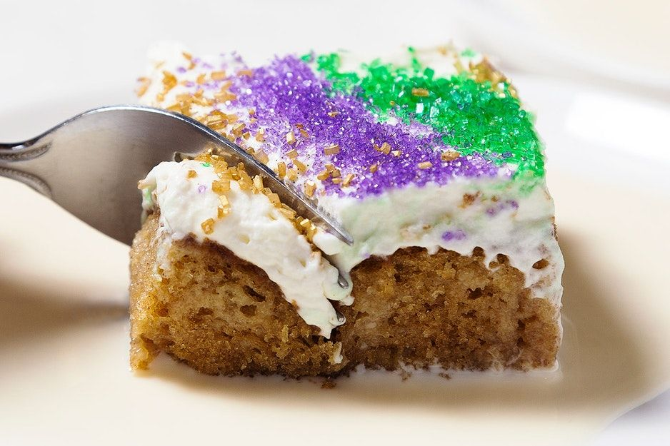 Emerils tres leches king cake recipe king cake recipe