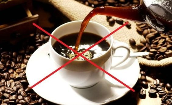 avoid caffeine