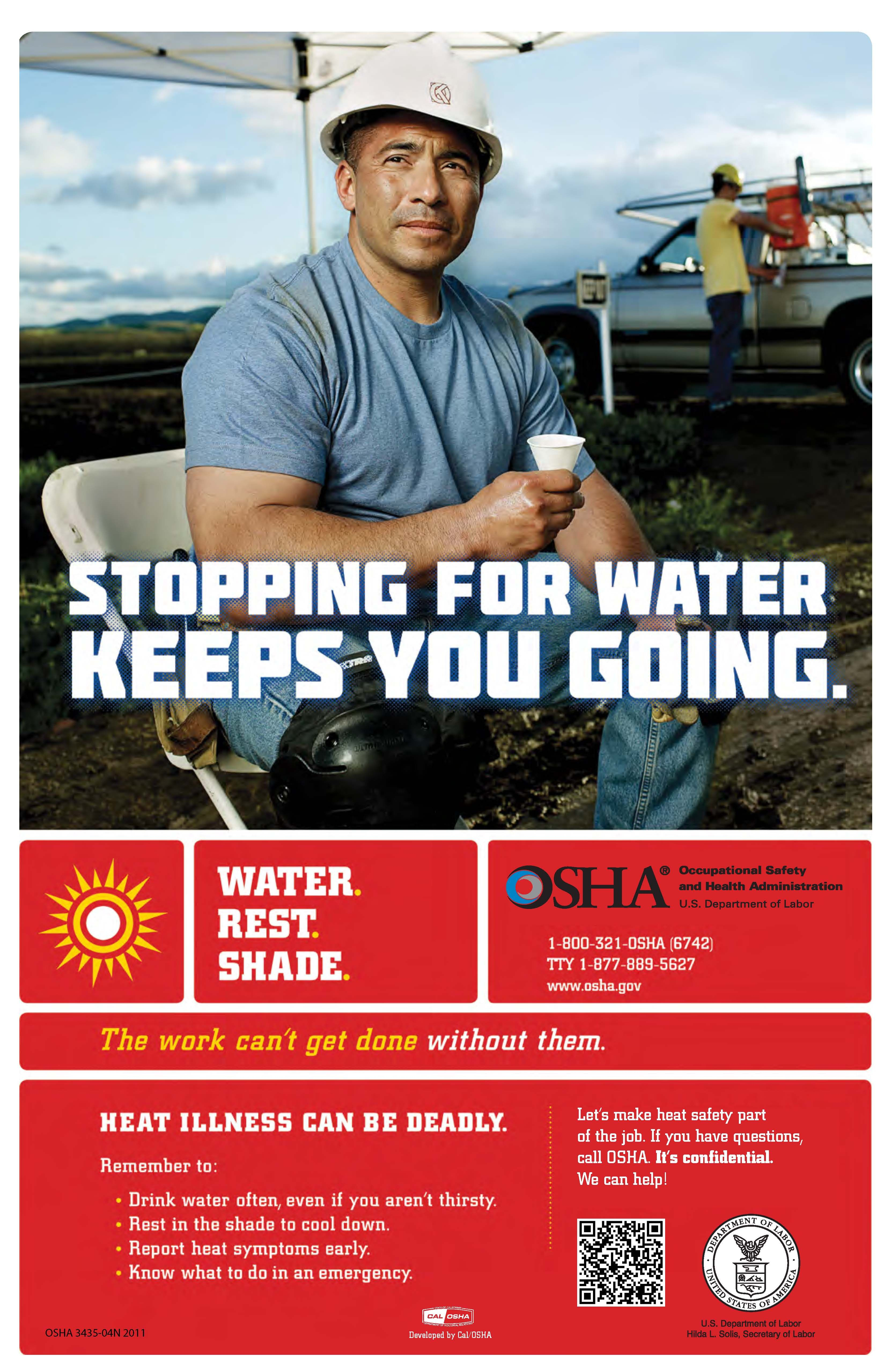 OSHA's Campaign to Prevent Heat Illness in Outdoor Workers