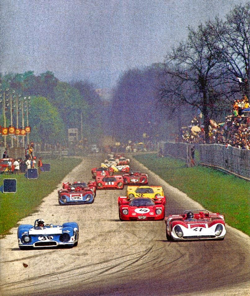 The 1000km Of Monza In 1970 Gran Turismo Monza Carros