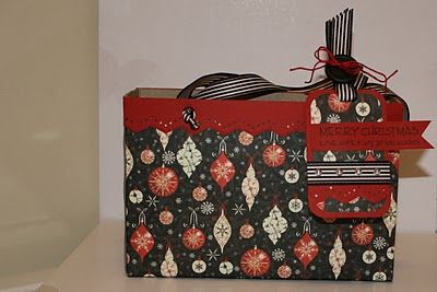 gift boxtote with handles from a cereal box wownice