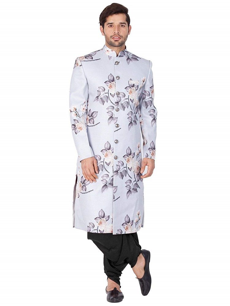 05b5af572c Men's Cotton Blend Sherwani Set (Lavender Grey_VASMSW015nCDBL) – Vastramay  #trendbux #kurta #ethnic #ethnicwear #ethnicclothes #mensfashion #mens