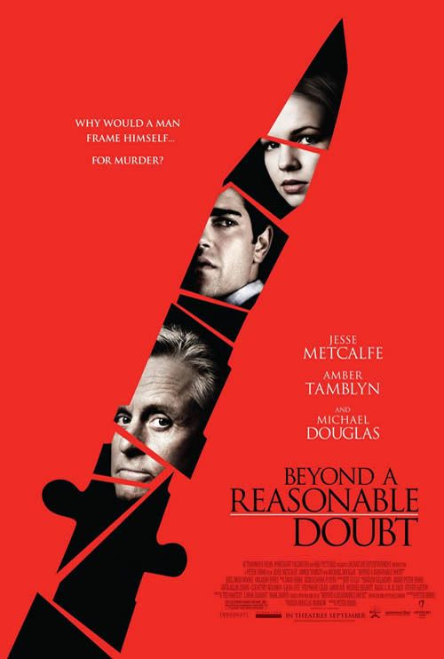 75 Real Creative Movie Posters Reasonable Doubt Jesse Metcalfe