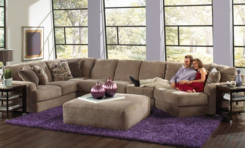 Malibu 3 Piece Sectional Grand Home Furnishings K5639 Living