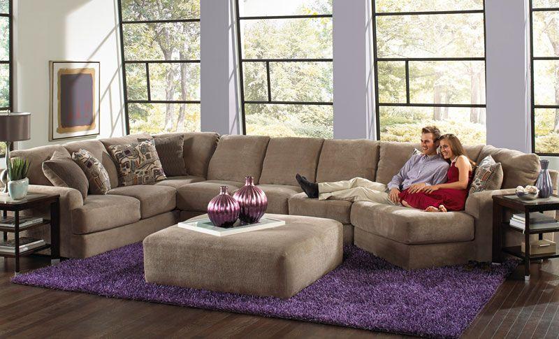 Malibu 3 Piece Sectional   Grand Home Furnishings   K5639