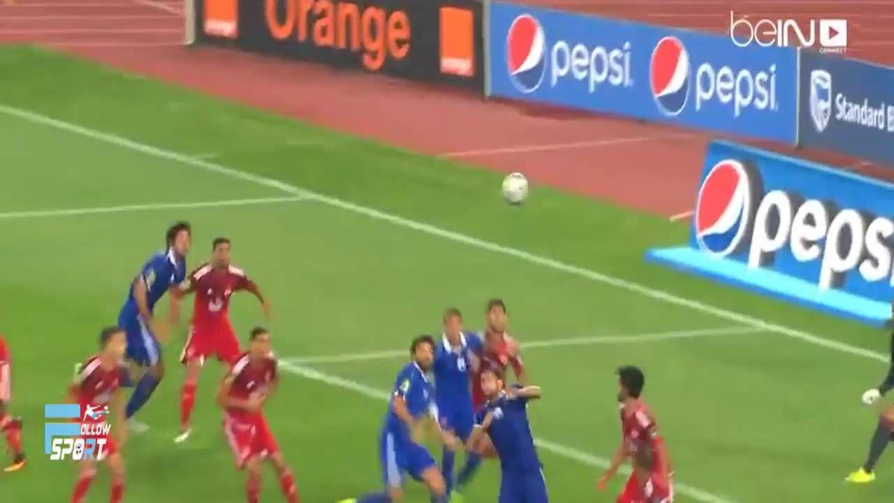 اهداف مباراة الاهلي والوداد المغربى 1 0 ملخص كامل عصام الشوالى دورى ا Soccer Field Youtube Sports