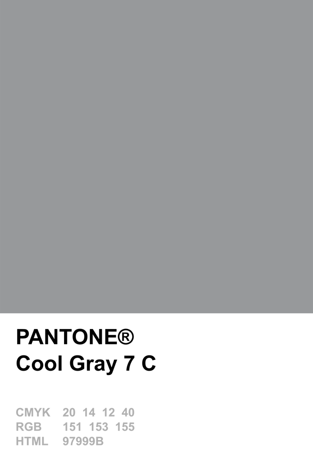 Pantone Cool Gray 7 C Pantone Colour Palettes adf8844f2cd6